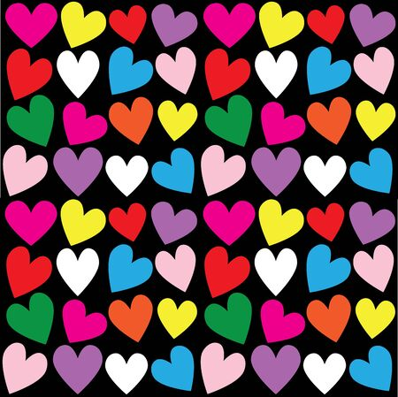 pattern: seamless heart pattern background