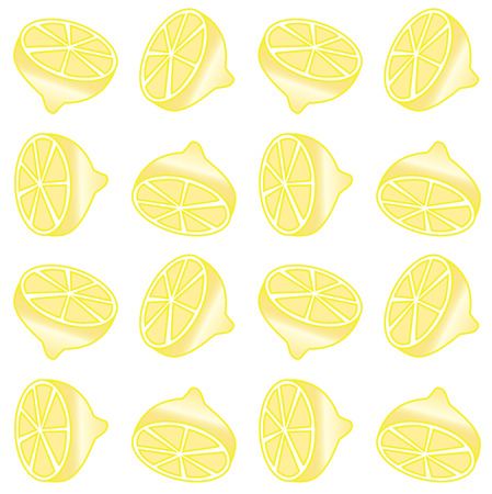 seamless lemon pattern background