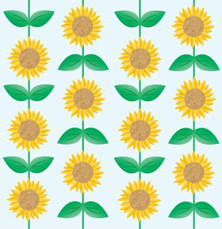 seamless sunflower pattern background backdrop