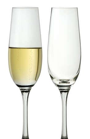 coupe de champagne: verre de champagne
