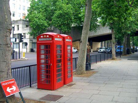 sidewalk talk: London Phone Booths