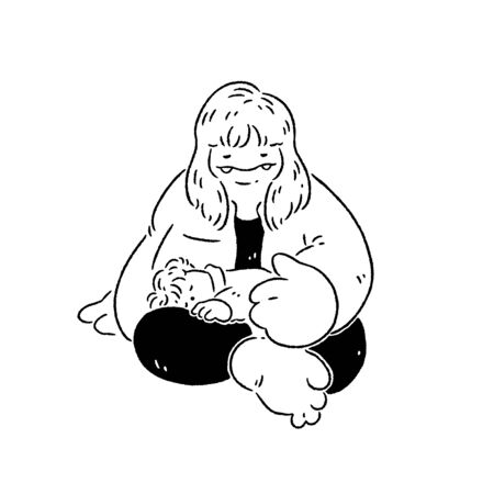 Mom cares for sleepy child 版權商用圖片