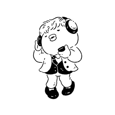 Man enjoying music and dancing