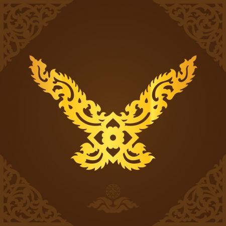 Thailand lanna symbol Stock Vector - 20962364