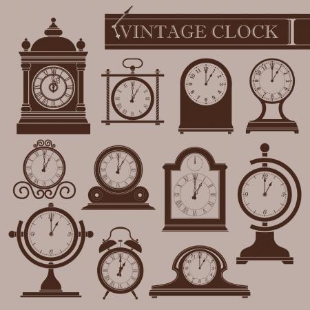 vespers: Vintage clock I