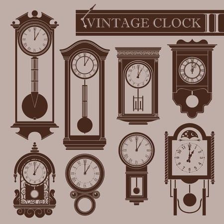 time machine: Horloge II Vintage