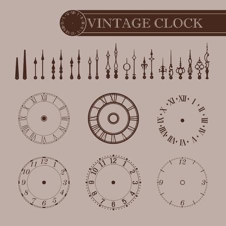 vespers: Vintage clock part