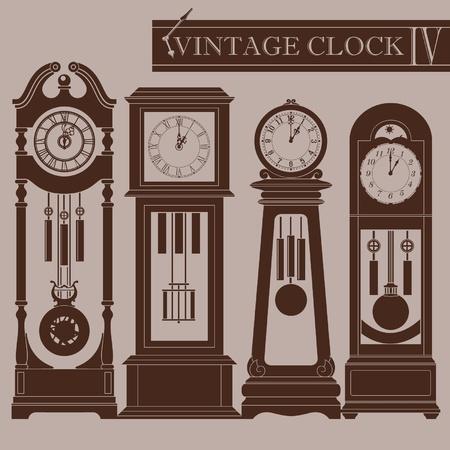 vespers: Vintage clock IV