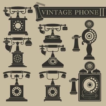 vintage telefoon: Uitstekende telefoon II