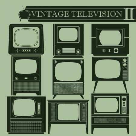 cathode ray tube: Vintage television II