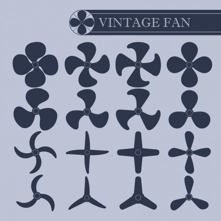 planos electricos: Parte fan del vintage