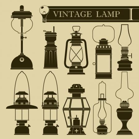 lamp on the pole: Vintage lamp I