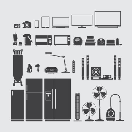 Home appliances symbol Illustration
