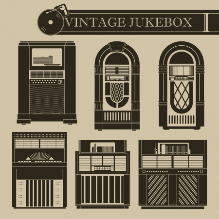 jukebox: Vintage jukebox I