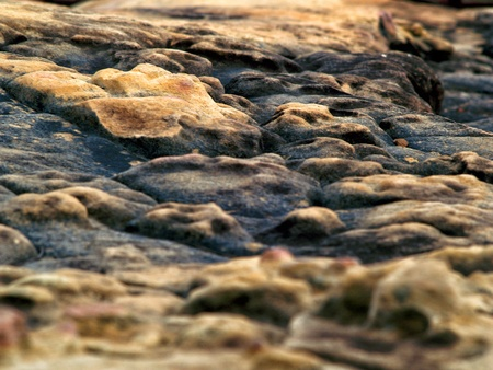 over burdened: Stone surface