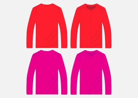 hooded sweatshirt: Vector pullover templates