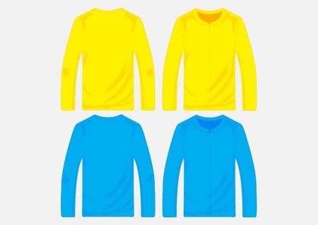 zipper hooded sweatshirt: Vector pullover templates