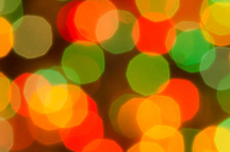 blurry lights: Multicolored defocused bokeh blurry lights, Christmas lights, bright background