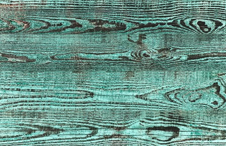 crannied: Old wooden board green and black colors, Wooden texture