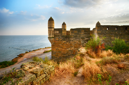 The Enikale fortress on the Black Sea coast. The city of Kerch, Crimea. Built by the Ottomans in the beginning of the XVIII century.