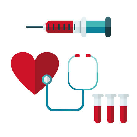 blood donation. Vector illustration of Donate blood concept for World blood donor day-June 14. Illustration