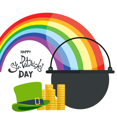 Happy St. Patricks Day greeting.