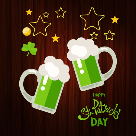 Happy St. Patricks Day greeting.