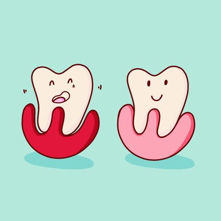 Pediatric dentistry. Periodontosis. Periodontitis is a inflammatory diseases affecting the periodontium, the tissues that surround and support the teeth.
