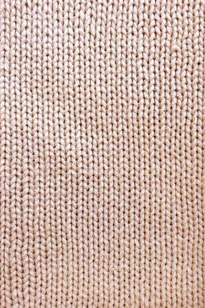 woolen: Knitted fabric - macro of a woolen texture Stock Photo