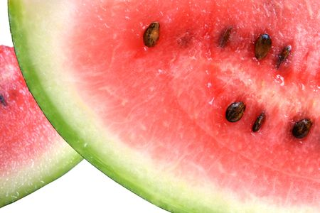 bacca: Watermelon isolated on a white background