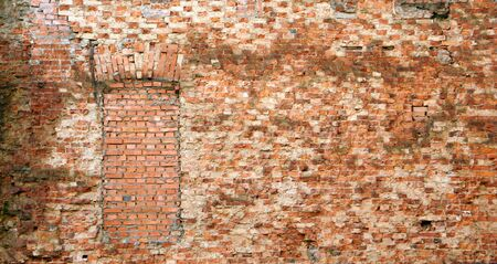 Old brick wall, a horizontal picture photo