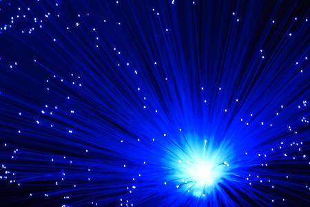 Abstract blue background with star, for backgrounds or textures photo