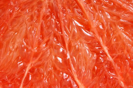 Red grapefruit, for backgrounds or textures photo