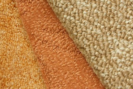carpet and flooring: Samples of collection carpet, for backgrounds or textures