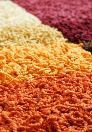 Samples of collection carpet, for backgrounds or textures Stock Photo - 7370558
