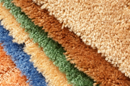 Samples of collection carpet, for backgrounds or textures photo