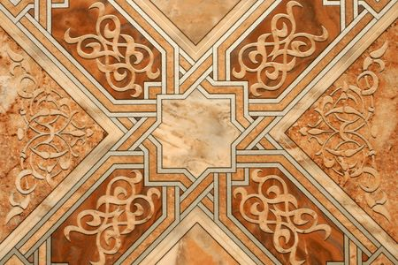 inlaid: Detailed image of a linoleum background
