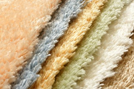 home repairs: Samples of collection carpet, for backgrounds or textures