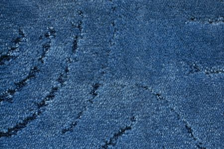 A blue carpet texture, close-up Stock Photo - 7664630