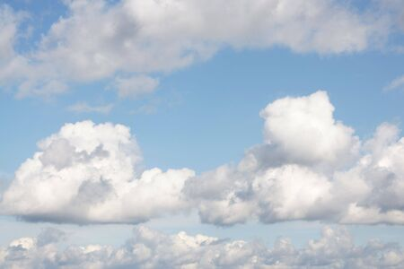 cumulus: Blue sky with clouds, for backgrounds or textures