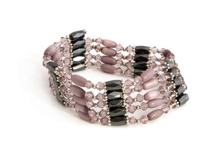 Bracelet on a white background photo