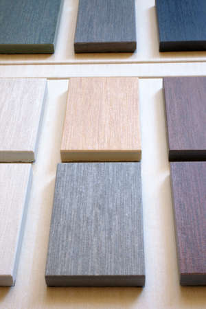 The samples of collection ceramic tile photo