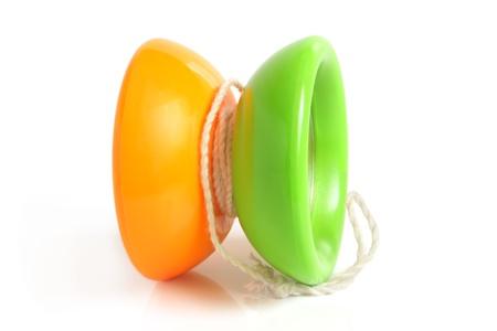 Yo-yo toy on a white background