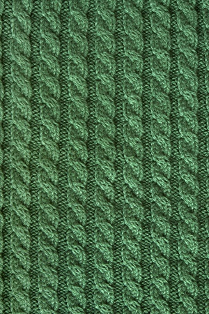 Gebreide stof - macro van een wollen textuur