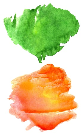 Abstract hand drawn watercolor background, for backgrounds or textures Stock Photo - 11405756