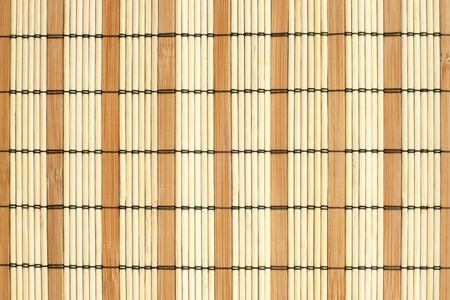 placemat: Modello di tovaglietta di bamb�, per gli sfondi o texture Archivio Fotografico