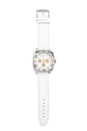 Wristwatch isolated on a white background photo