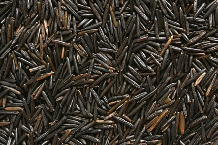 wild asia: Black rice, for backgrounds or textures