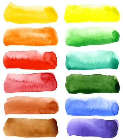 watercolor background: Abstract hand drawn watercolor background, for backgrounds or textures Stock Photo