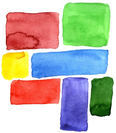 color image creativity: Abstract hand drawn watercolor background, for backgrounds or textures Stock Photo